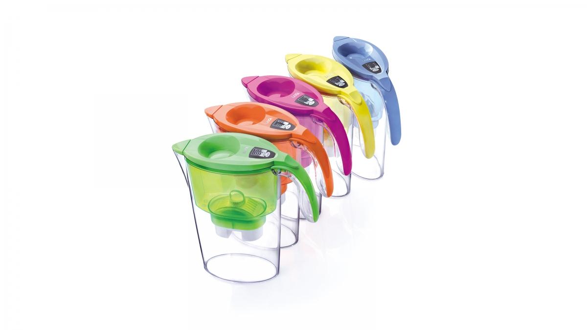 彩色系列 高效雙流濾水壺 2.3L 1