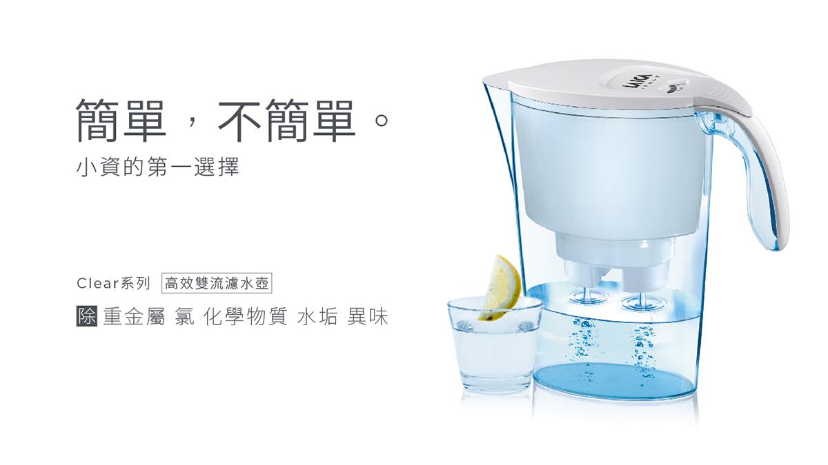 【GRAND SALE】高效雙流濾芯一年份 - 加贈經典雙流濾水壺 2